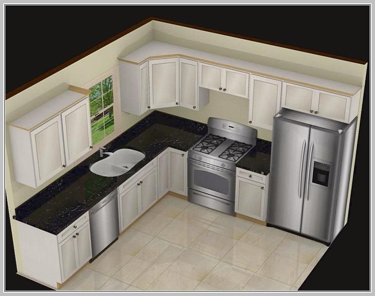 L Shaped Kitchen Island Designs With Seating   Home Design Ideas