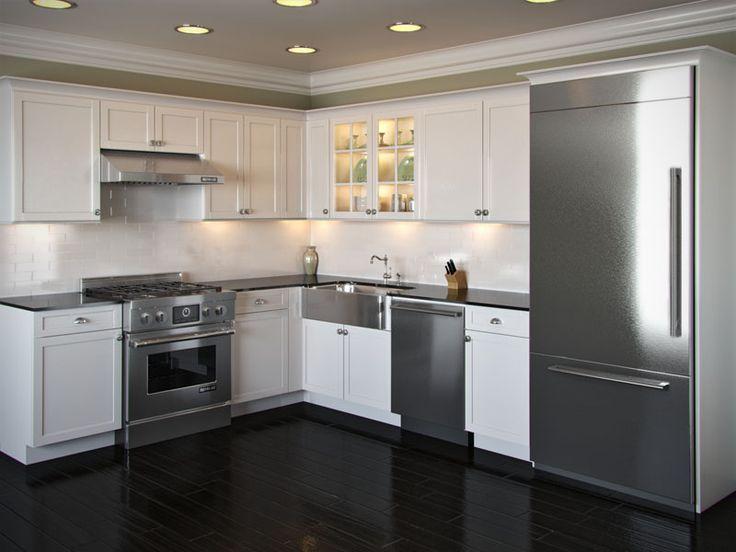 20 Beautiful And Modern L-Shaped Kitchen Layouts   kitchen   L