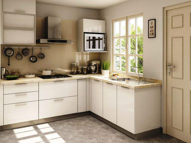 Small L Shaped Kitchen Design With Window u2014 Ardusat HomesArdusat Homes