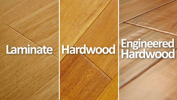 Hardwood vs Laminate vs Engineered Hardwood Floors | What's the