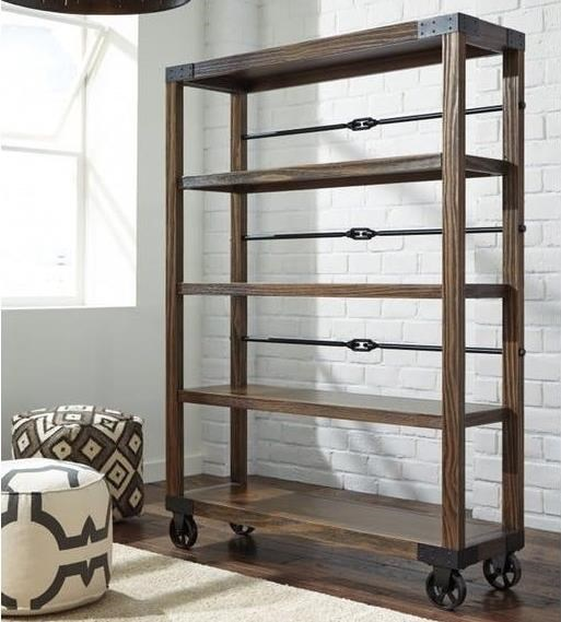 Ashley Furniture 100 100-29 Large Bookcase | Dunk & Bright Furniture
