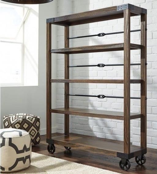 Ashley Furniture 100 100-29 Large Bookcase | Dunk & Bright Furniture