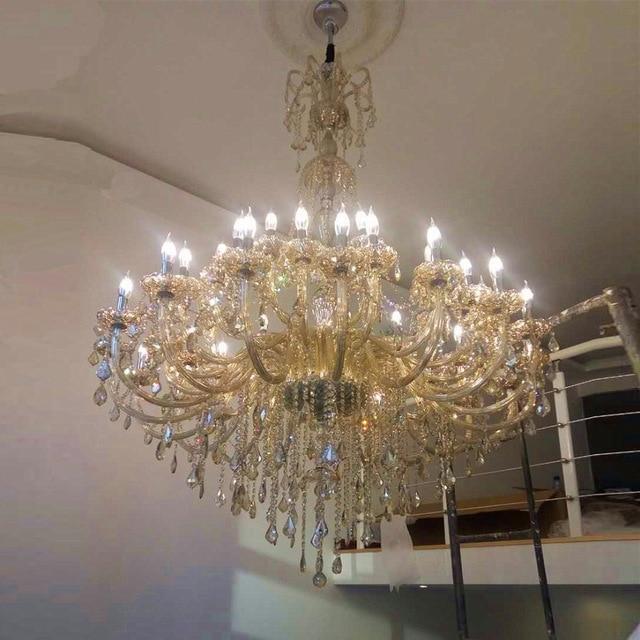 Large Chandelier for Living Room Modern Crystal Chandeliers Large