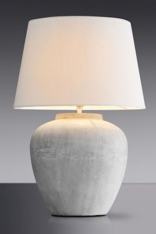 Buy Lydford Large Ceramic Table Lamp With Shade from the Next UK