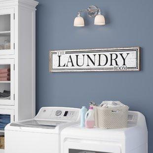 Laundry Room Wall Decor | Wayfair
