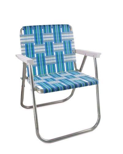Amazon.com : Lawn Chair USA Aluminum Webbed Chair (Picnic Chair, Sea