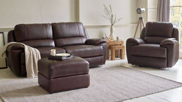 Real Leather Sofas | Leather Settees | Oak Furniture Land