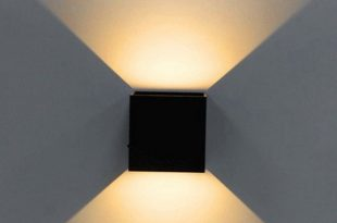 LED Wall Light, Modern Cube Wall Sconce Direction Adjustable Wall