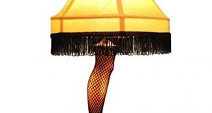 A Christmas Story 20 inch Leg Lamp Prop Replica by NECA - Desk Lamps