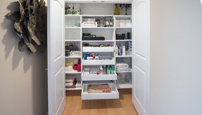 Linen Closets and Hall Closets