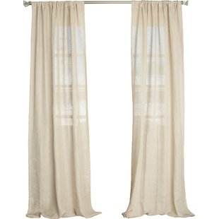Linen Curtains & Linen Drapes You'll Love | Wayfair