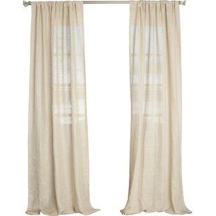 Linen Curtains & Linen Drapes You'll Love | Wayfair