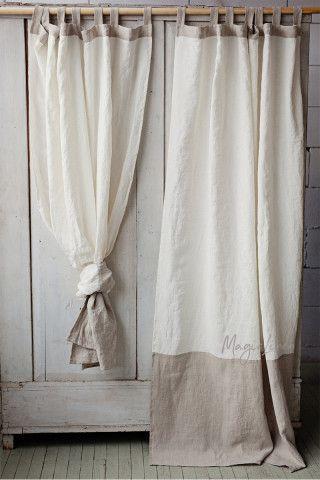 Linen Curtains | Linen Drapes | MagicLinen
