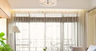 LOCO Acrylic Chandelier with 3 lights (Chrome Finish) Flush Mount