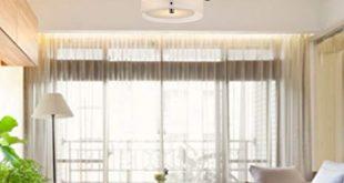 LOCO Acrylic Chandelier with 3 lights (Chrome Finish) Flush Mount
