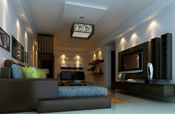 Lighting Ideas For Living Room With No Ceiling Light Nice Led
