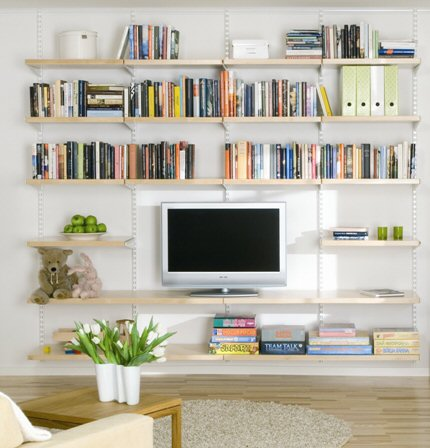 STORE | Elfa Living Room Shelving - Best Selling Solution