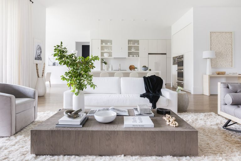 Living Rooms Setting with Three Basic Steps