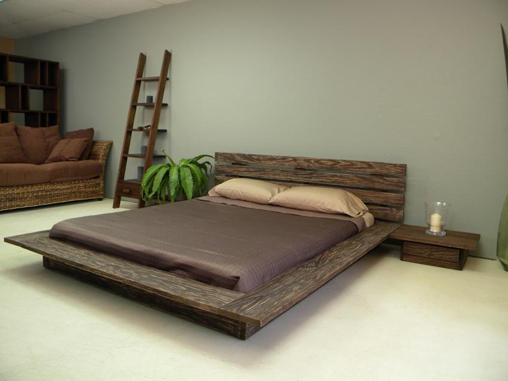 Delta Low Profile Platform Bed