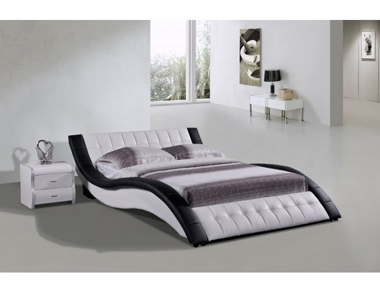 Violet Modern Low Profile Bed