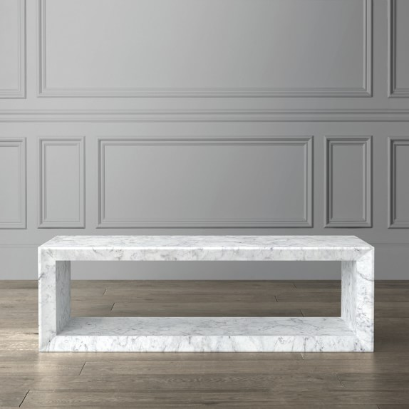 Pierre Marble Coffee Table | Williams Sonoma