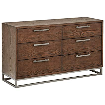 Amazon.com: Stone & Beam Glenwood Industrial Metal Dresser, 60