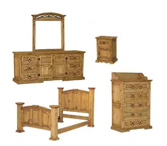 Rustic Furniture, Pine Furniture, Mexican Wood Furniture
