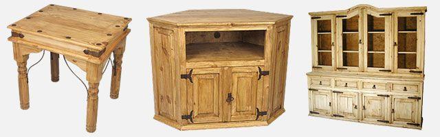 Mexican pine furniture | Decoration | Decor, Pine furniture, Mexican