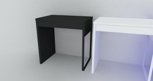 MICKE Desk 3D asset low-poly | CGTrader