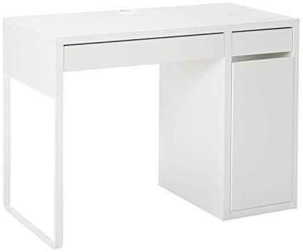 Amazon.com: IKEA 802.130.74 MICKE Desk, White: Kitchen & Dining