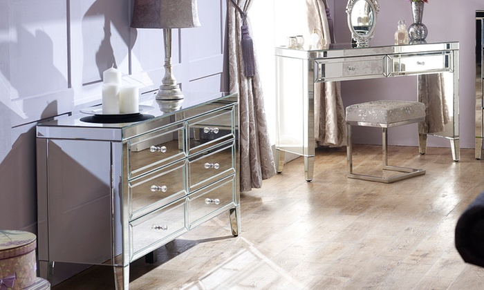 Fully Assembled Mirror Furniture | Groupon Goods