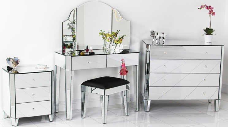 Mirrored Furniture | Mirror Furniture New York