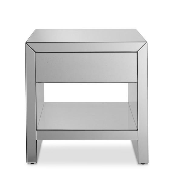 Harrington Mirrored Side Table | Williams Sonoma