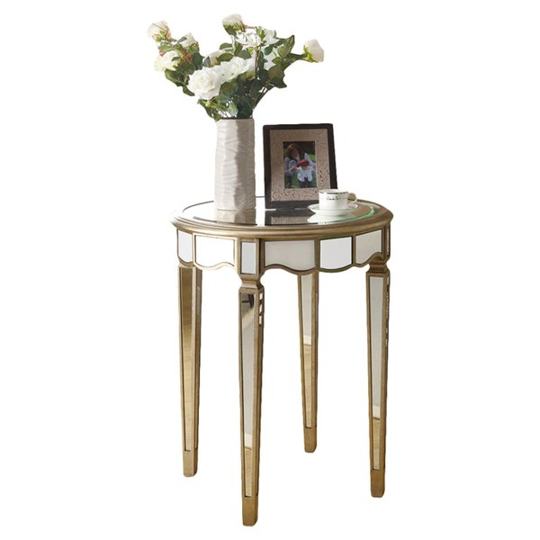 Mirrored End Tables You'll Love | Wayfair