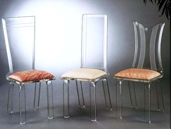 Modern Acrylic Furniture Decorates Homes   and Saves the Planet
