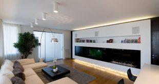 Highly Modern Apartment Design in Russia by Alexey Nikolashina