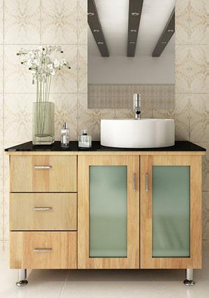 Modern Bathroom Vanities and Cabinets - Bathgems.com