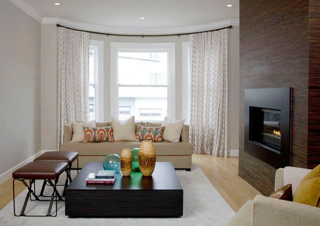 Modern Bay Window Curtains for Your Home