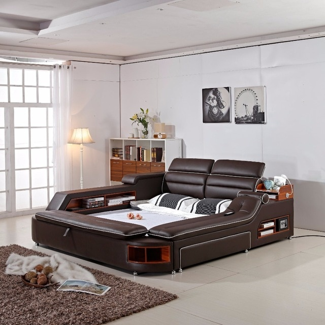delivery to COSTA RICA ! 2018 Limited New Arrival Modern Bedroom Set