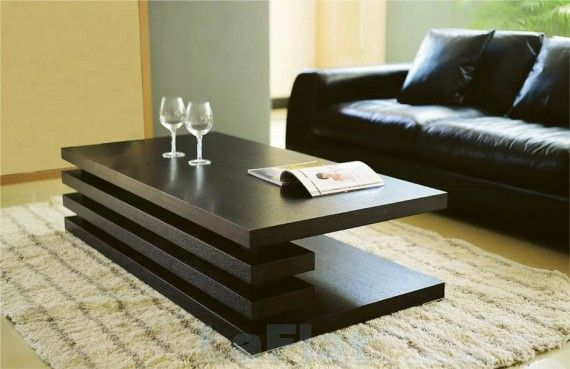 Modern Coffee Tables New Idea in Furniture and Design: Modern Black