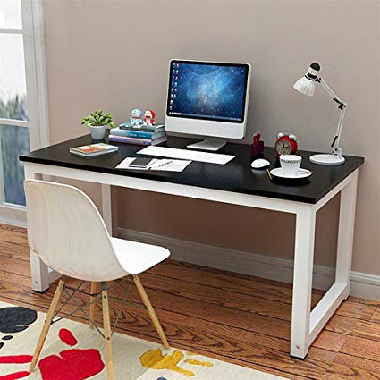 Amazon.com: Yaheetech Simple Computer Desk PC Laptop Writing Study