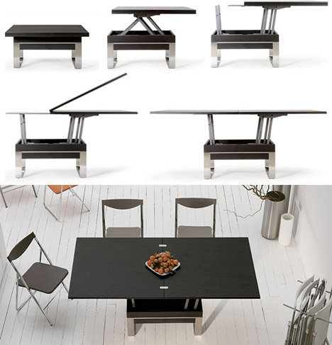 Transforming Tables: Convert Coffee to Dining Surfaces