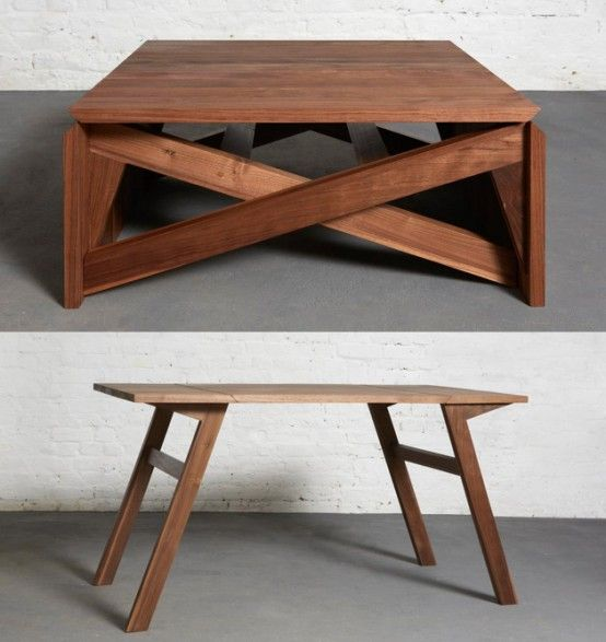 Collapsible Furniture; Transforming and Converting Towards Modern