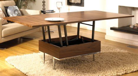 Transformer Furniture: Dwell's Convertible Coffee Table | Furniture
