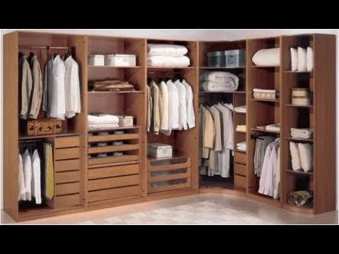 Modern Corner Wardrobe Designs || Wooden Wardrobe collections
