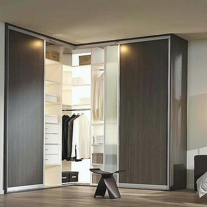 Corner Closet Door Corner Corner Wardrobe Closet With Doors Corner