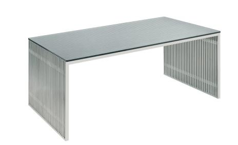 Modern Brushed Stainless Steel 64
