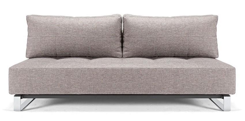 Camille Medium Gray Deluxe Modern Sleeper Sofa   Contemporary