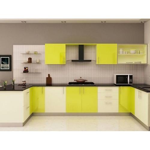 Modern Modular Kitchen Cabinet, Rs 25000 /piece, Vantage | ID