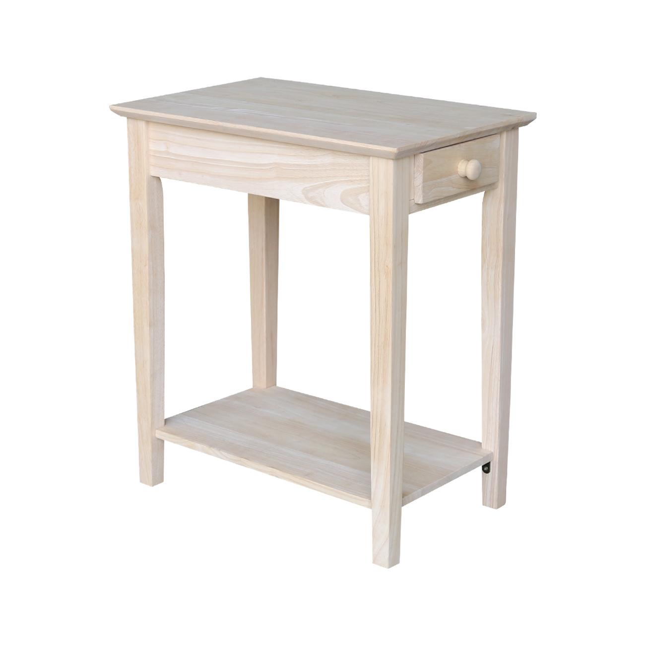 International Concepts Narrow End Table - Walmart.com